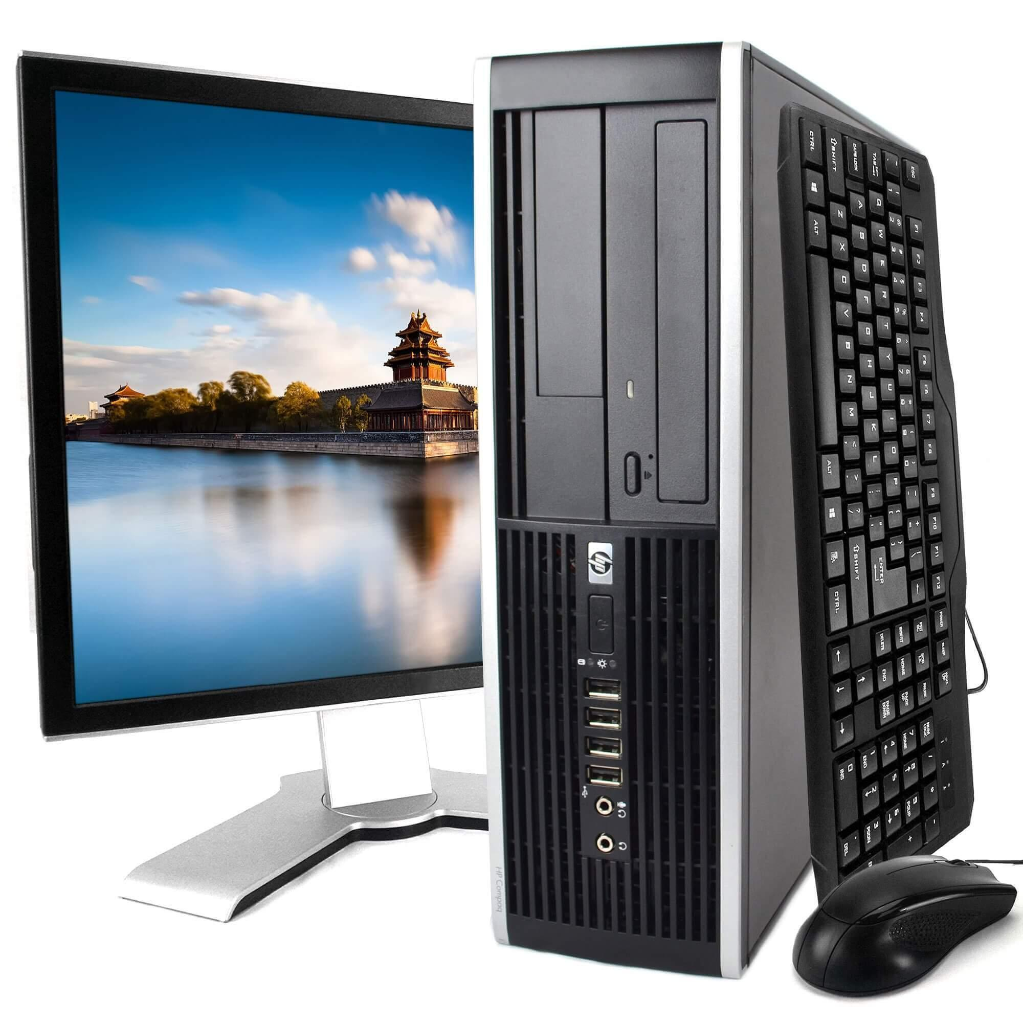 """Hp Compaq Elite 8200 SFF 22"""" Core I7-2600 3,4 GHz - SSD 480 Go - 16GB"""