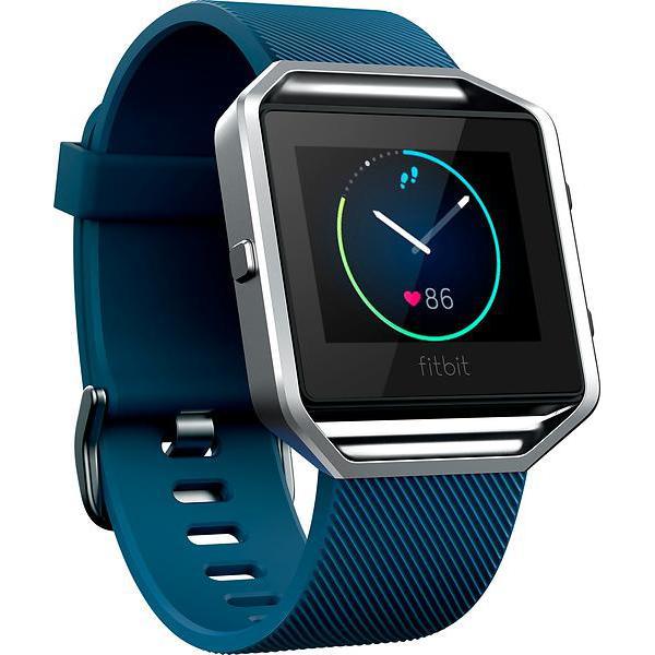 Fitbit Ρολόγια Blaze Παρακολούθηση καρδιακού ρυθμού GPS - Ασημί