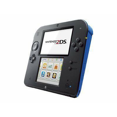 Nintendo 2DS - pelikonsoli - Musta/Sininen