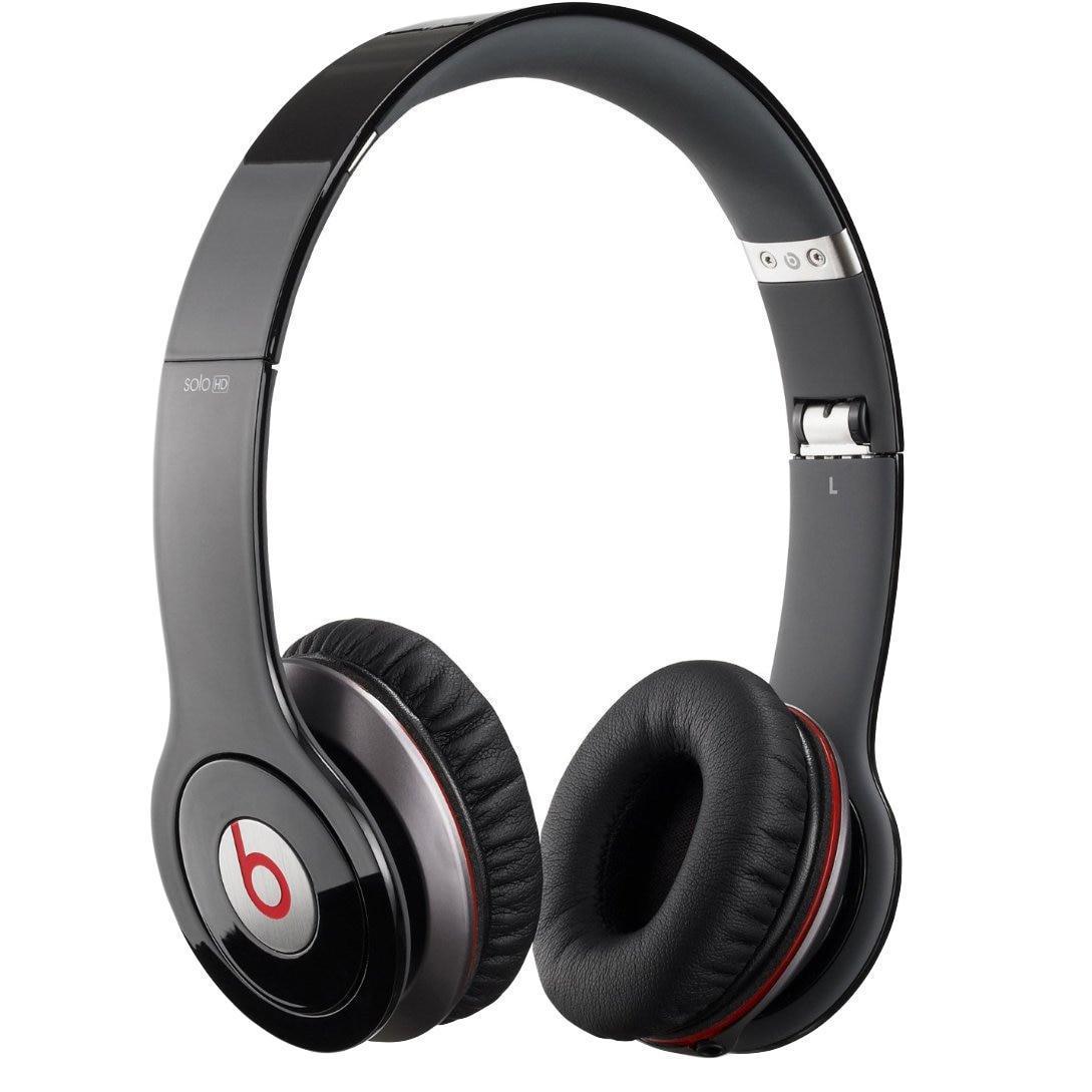 Casque Réducteur de Bruit avec Micro Beats By Dr. Dre Beats Solo HD - Noir/Rouge