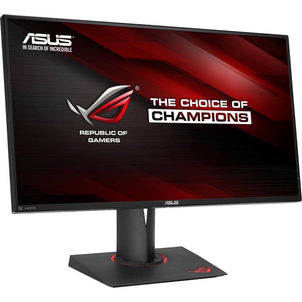 27-inch Asus Rog Swift PG279Q 2560 x 1440 LCD Monitor Black