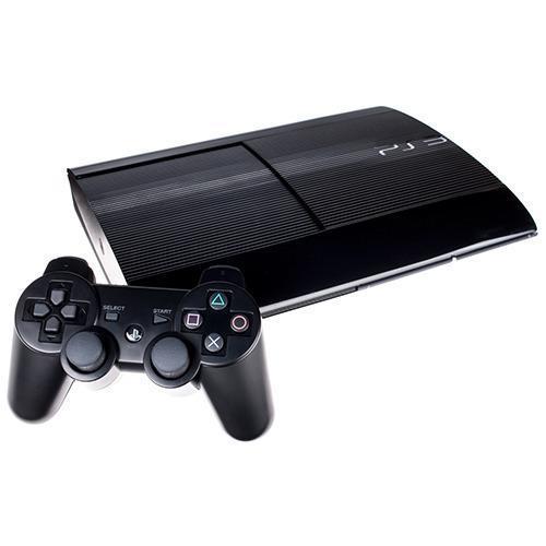 Konsoli Sony PlayStation 3 Super Slim 500GB + 1 Ohjaimien - Musta