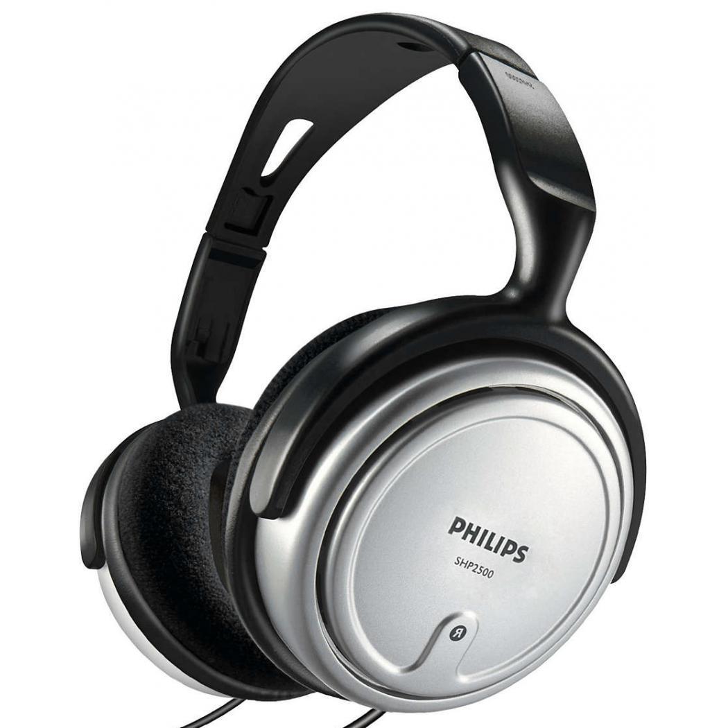 Casque Philips SHP2500/10 - Gris/Noir