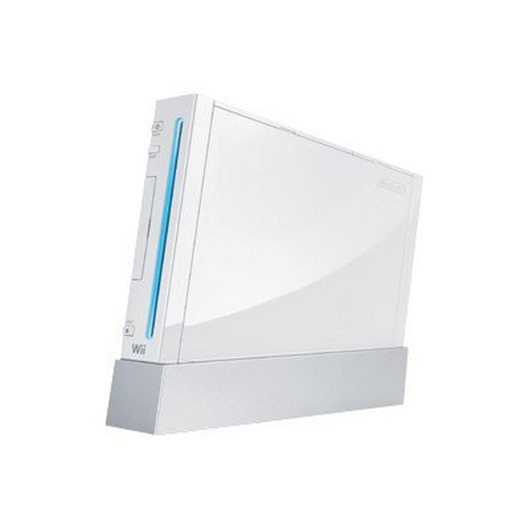 Nintendo Wii RVL-001-pelikonsoli 512 GB + Nanchuk -ohjain - Valkoinen