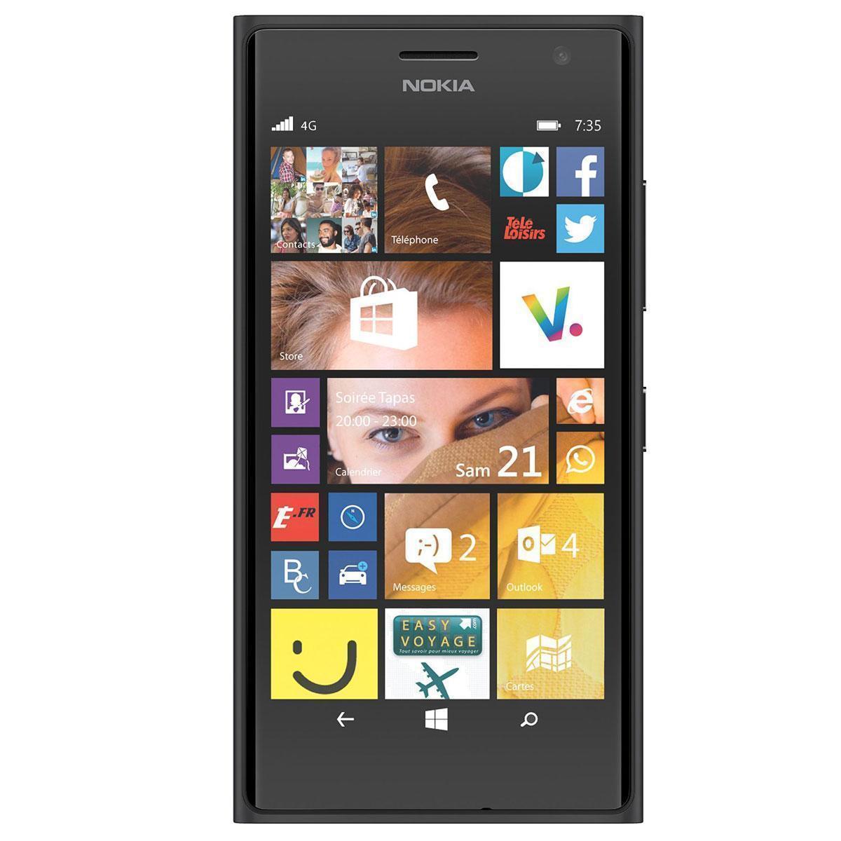 Nokia Lumia 735 - Noir- Débloqué
