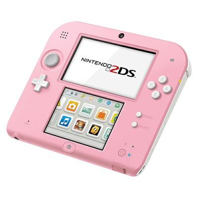 Nintendo 2DS - HDD 4 GB - White/Pink