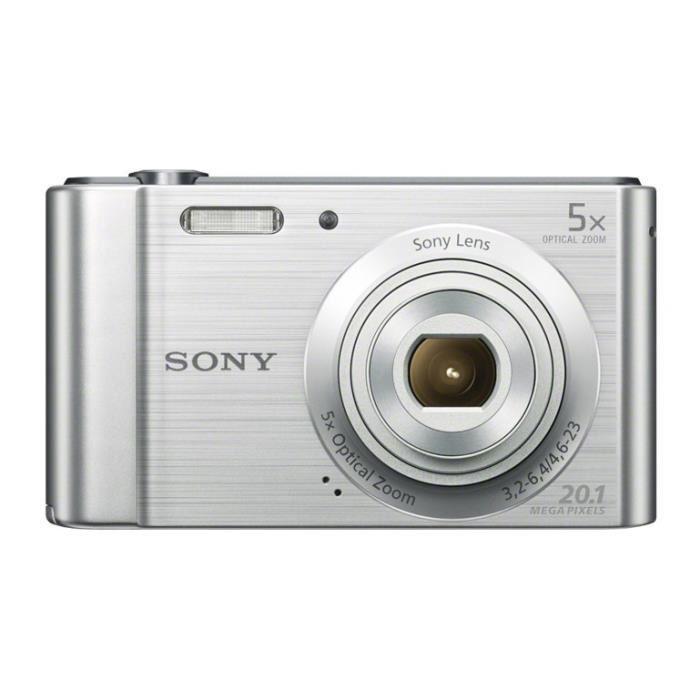 Sony Cyber-shot DSC-W800 Compact 20Mpx - Silver
