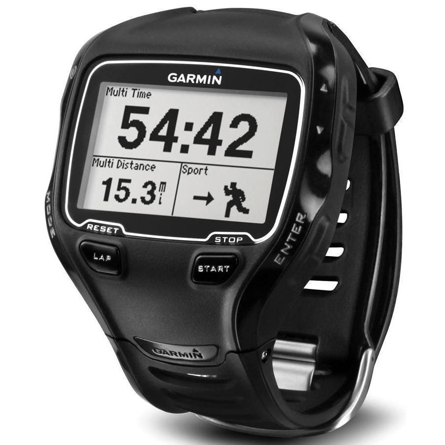 Montre Cardio GPS Garmin Forerunner 910XT - Noir