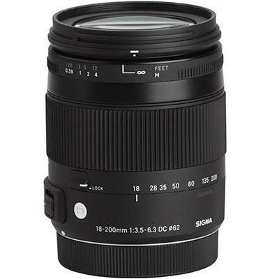 Sigma Φωτογραφικός φακός Canon EF 18-200 mm f/3.5-6.3