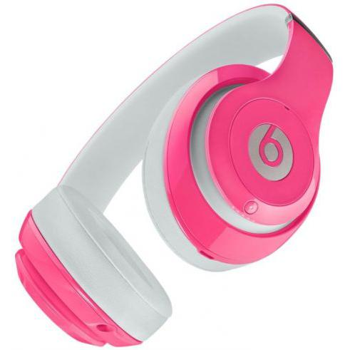 Slúchadlá Beats By Dr. Dre Beats Studio 2 Potláčanie hluku Mikrofón - Ružová/Biela