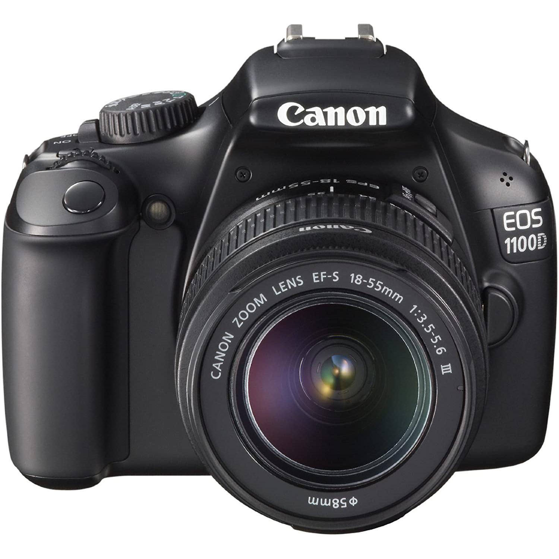 Canon EOS 1100D Zrkadlovka 12 - Čierna