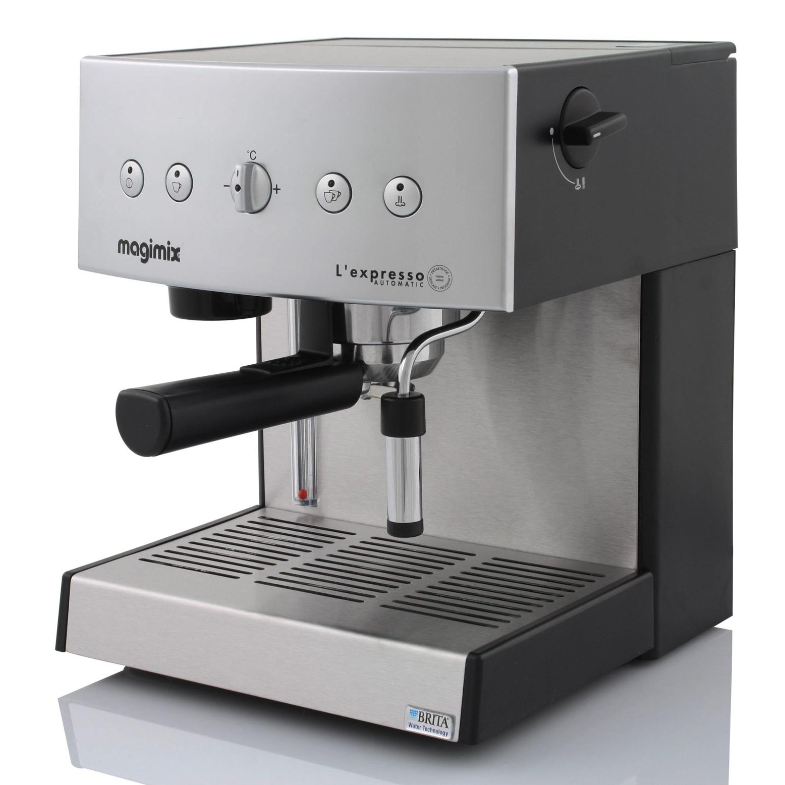 Espresso machine Compatibele Papier Pods (E.S.E) Magimix L'Expresso 11414 AUT