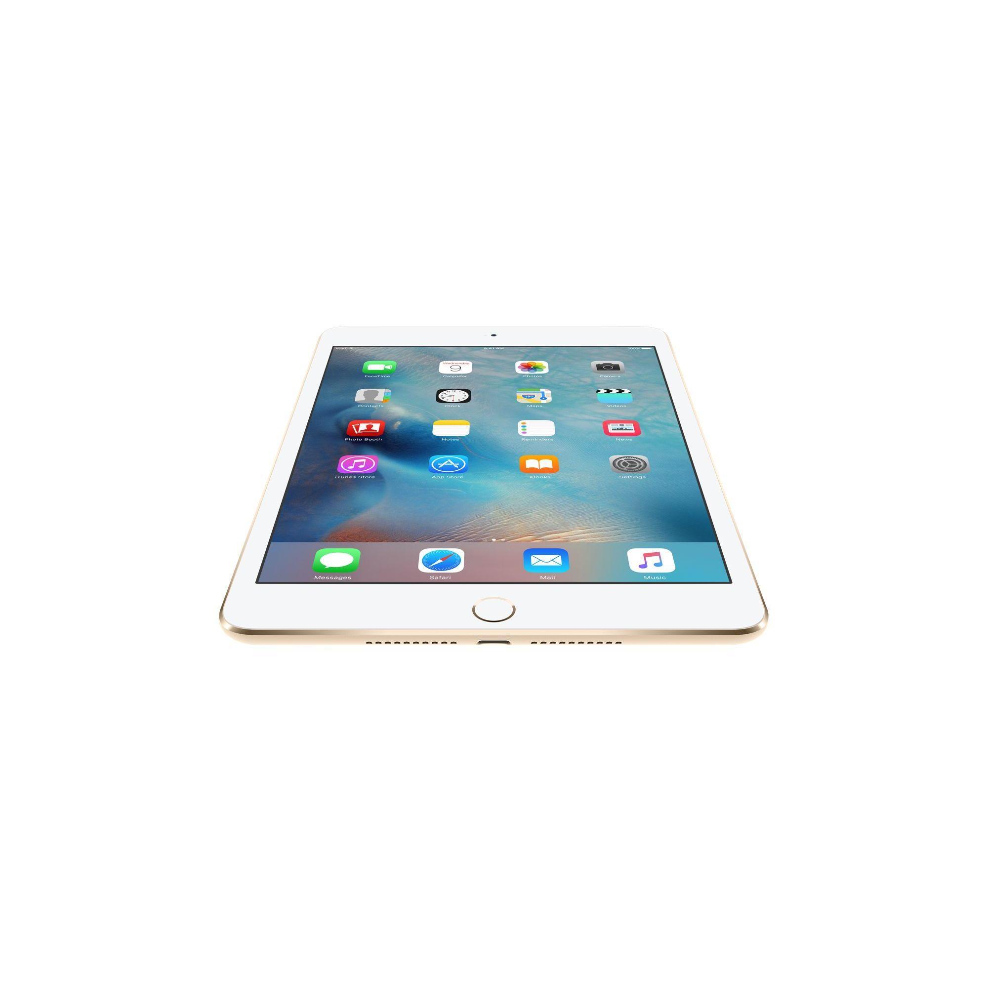 iPad mini 4 64 Go - Wifi + 4G - Or - Débloqué