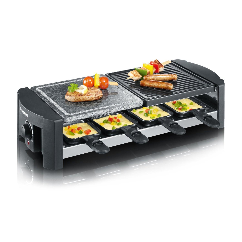 Severin - RG2683 - Appareil à raclette + grill 1300W