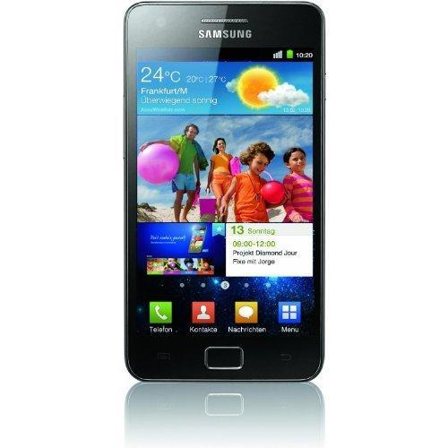 Samsung Galaxy S2 16 Go i9100 - Noir - Orange