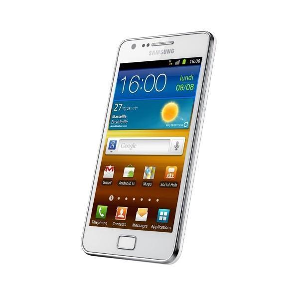 Samsung Galaxy S2 16 Go i9100 - Blanc - Orange
