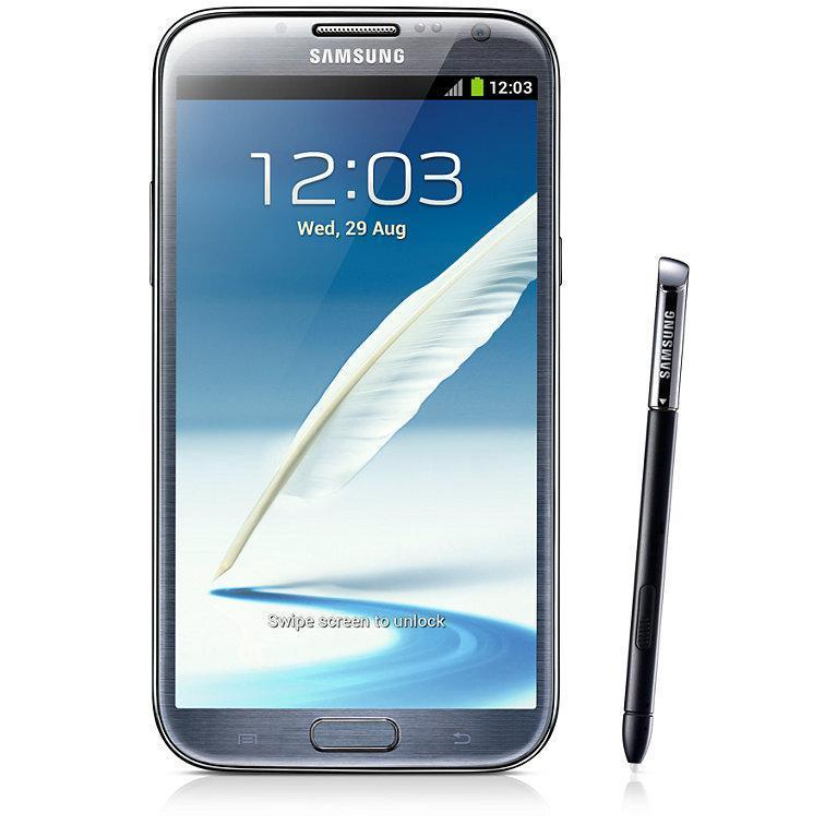 Samsung Galaxy Note 2 16 Go N7100 3G - Gris - Orange