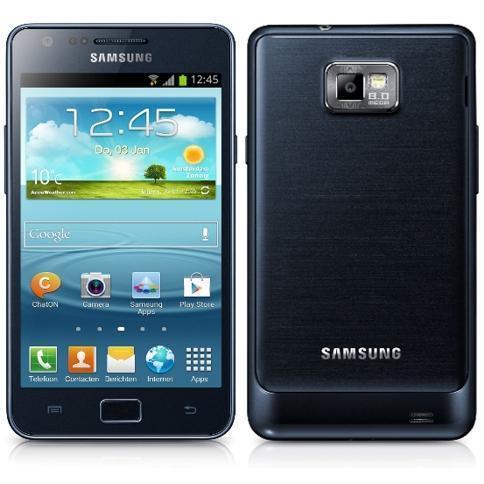 Samsung Galaxy S2 Plus 16 Go - Bleu - Bouygues