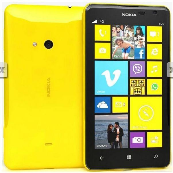 Nokia Lumia 625 8 Go - Jaune - Débloqué