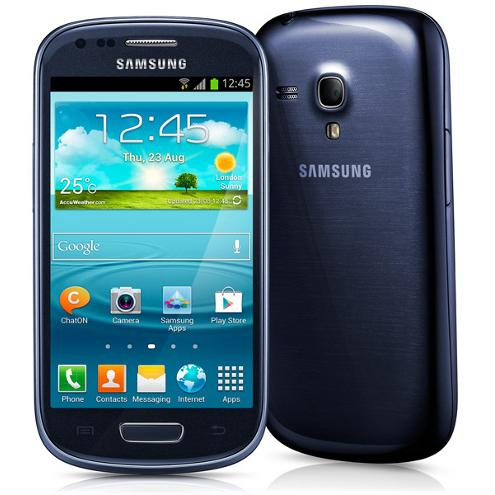 Samsung Galaxy S3 Mini 8 Go - Bleu - Bouygues
