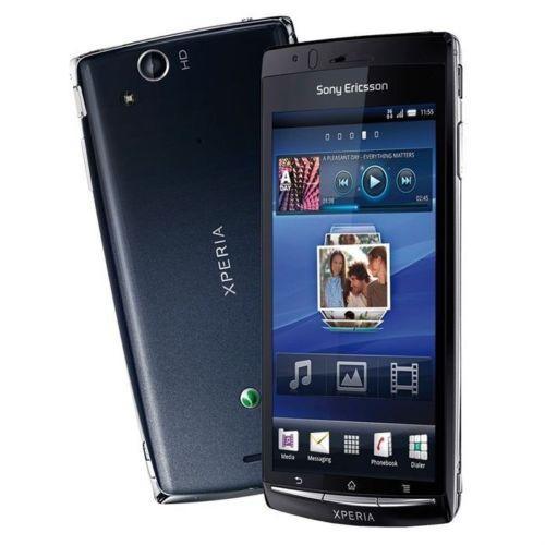 Sony Ericsson Xperia Arc S 320 Mo - Noir - Orange