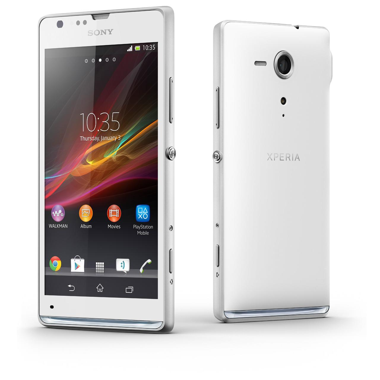 Sony Xperia SP 8 Go - Blanc - Orange