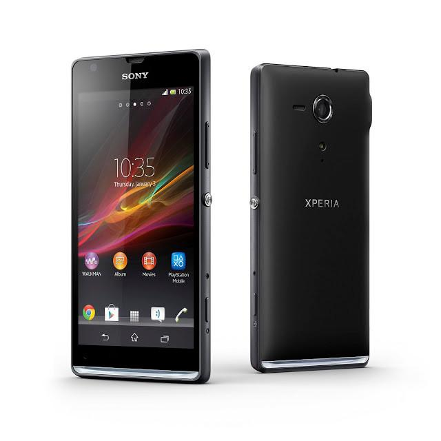 Sony Xperia SP 8 Go - Noir - Orange