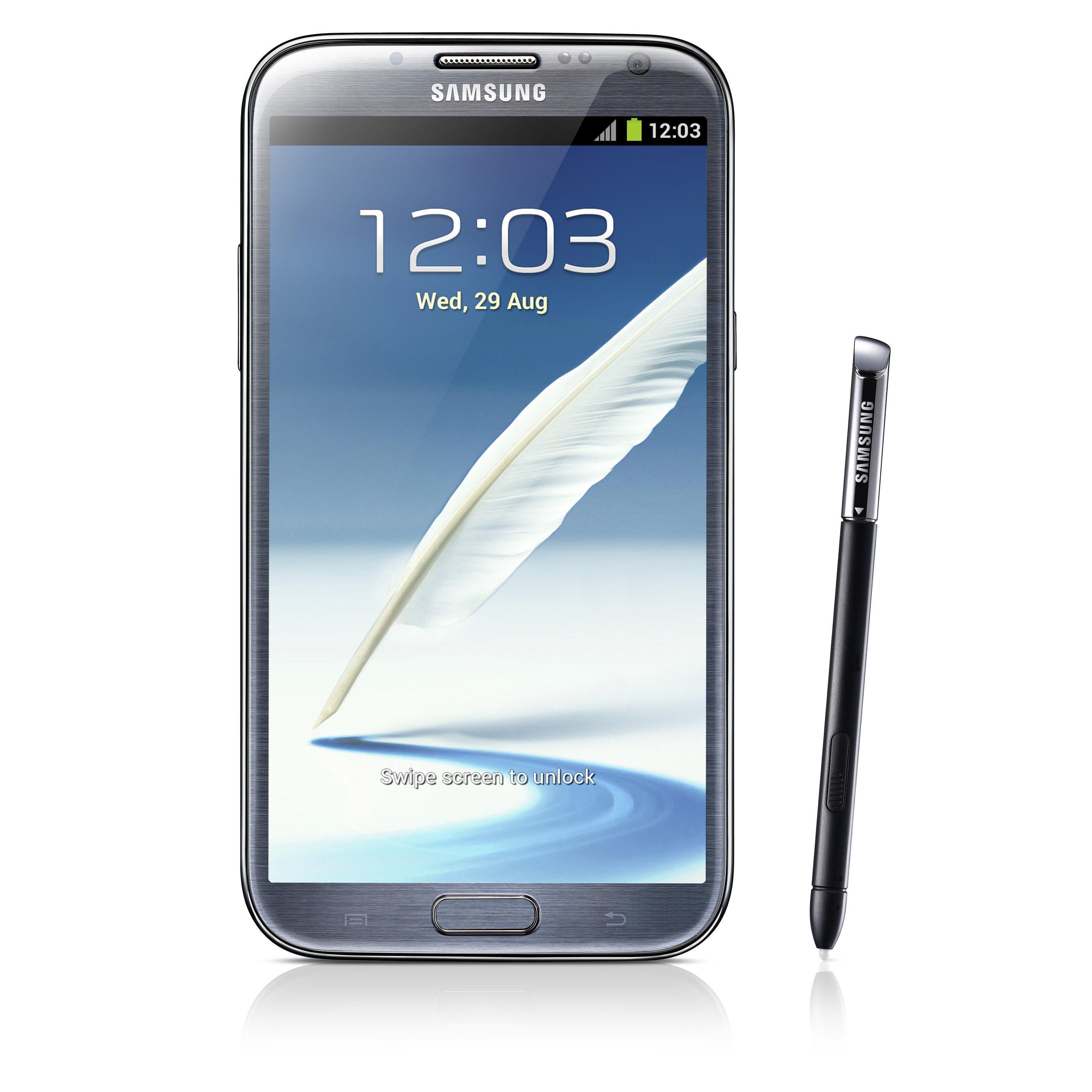 Samsung Galaxy Note 2 16 Go N7100 3G - Gris - SFR