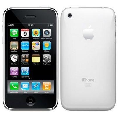 iPhone 3GS 8 Go - Blanc - Orange