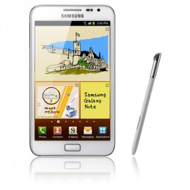 Samsung Galaxy Note 16 Go N7000 - Blanc - Orange