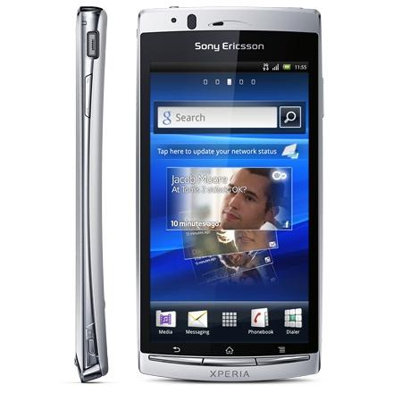 Sony Xperia Arc S - Blanc - Débloqué