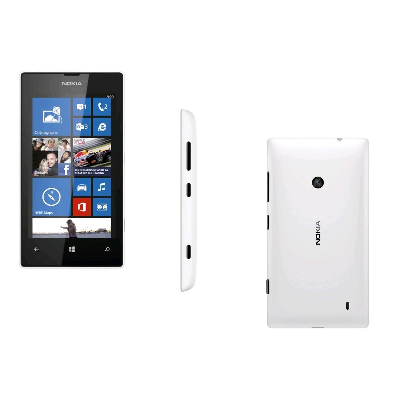 Nokia Lumia 520 8 Go - Blanc - SFR