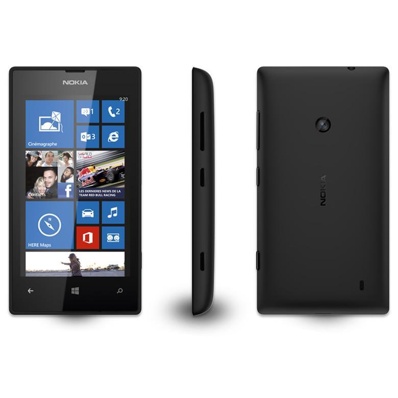 Nokia Lumia 520 8 Go - Noir - SFR