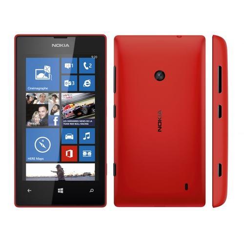 Nokia Lumia 520 8 Go - Orange - Rouge