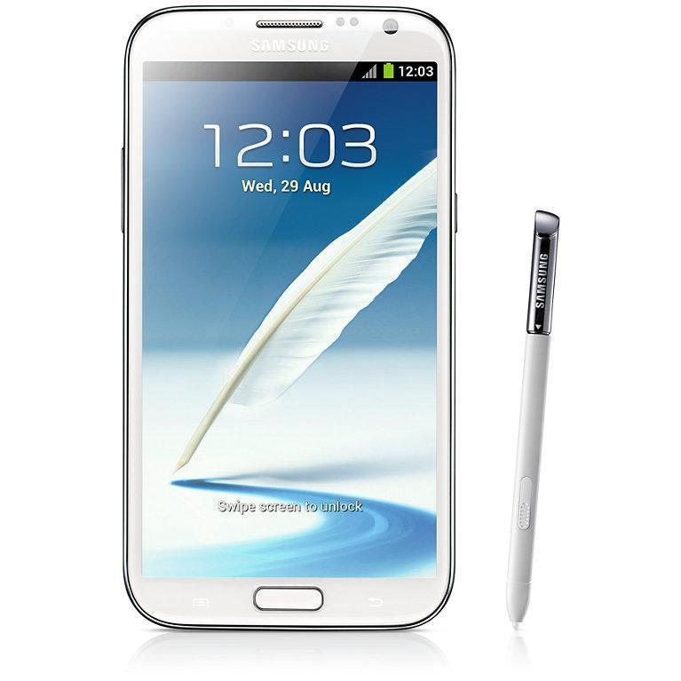Samsung Galaxy Note 2 16 Go N7100 3G - Blanc - Bouygues