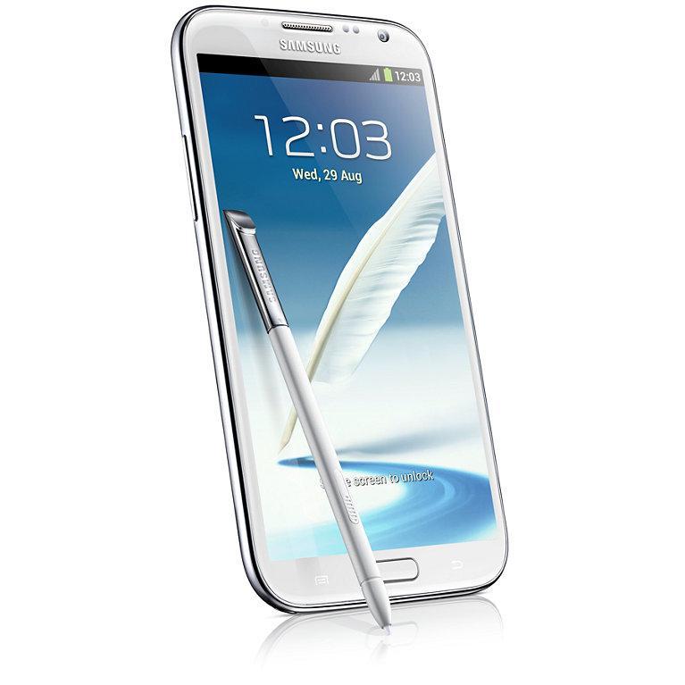 Samsung Galaxy Note 2 16 Go N7100 3G - Blanc - Orange