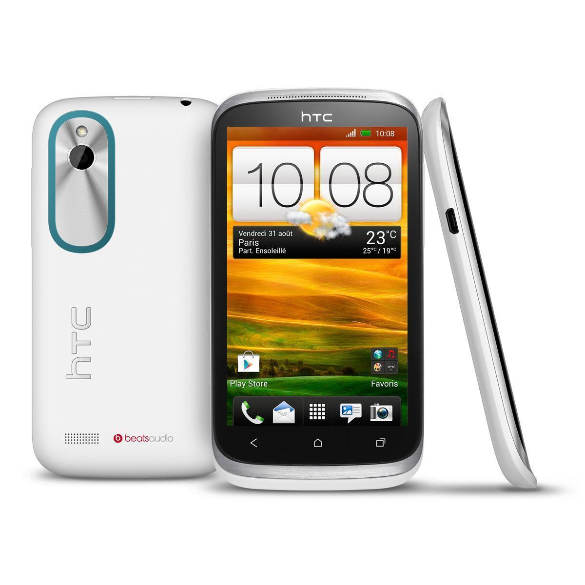 HTC Desire X 4 Go - Blanc - Bouygues