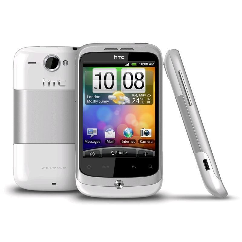 HTC Wildfire 512 Mo - Blanc - Débloqué