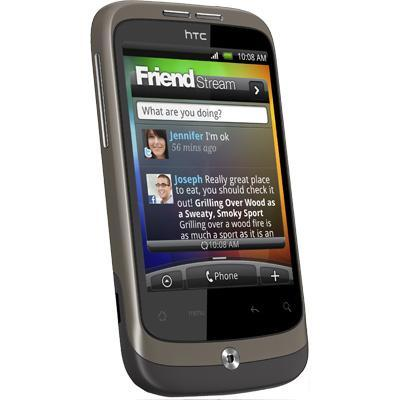 HTC Wildfire - Noir - Débloqué
