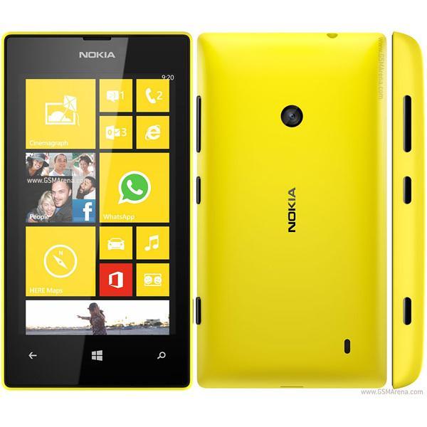 Nokia Lumia 520 8 Go - Jaune - SFR