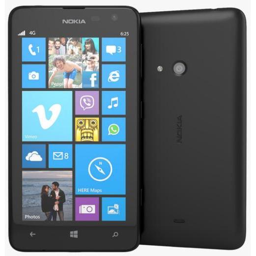 Nokia Lumia 625 8 Go - noir - débloqué tout opérateur
