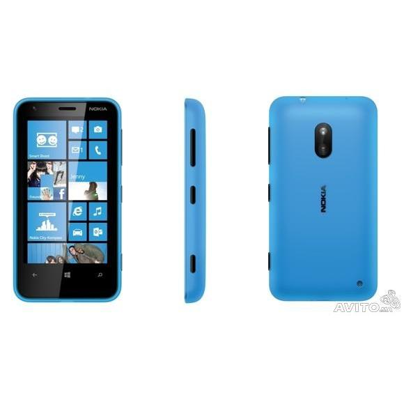 Nokia Lumia 520 8 Go - Bleu - SFR