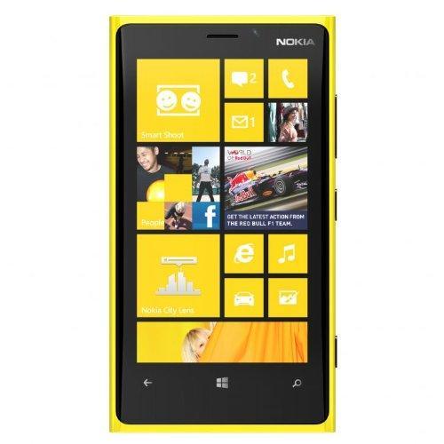Nokia Lumia 920 - Jaune - Débloqué