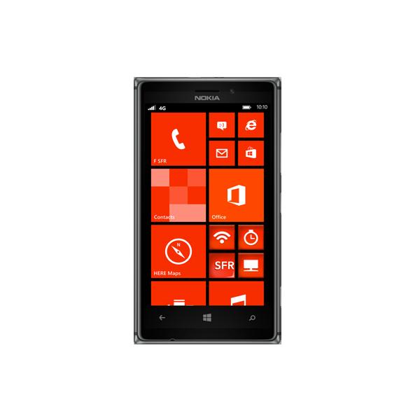 Nokia Lumia 925 - Noir - Orange