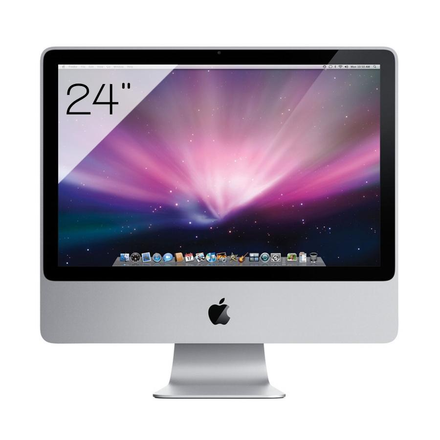"iMac 24'' 24"" Core 2 Duo 2,8 GHz GHz  - HDD 500 Go - RAM 2 Go"