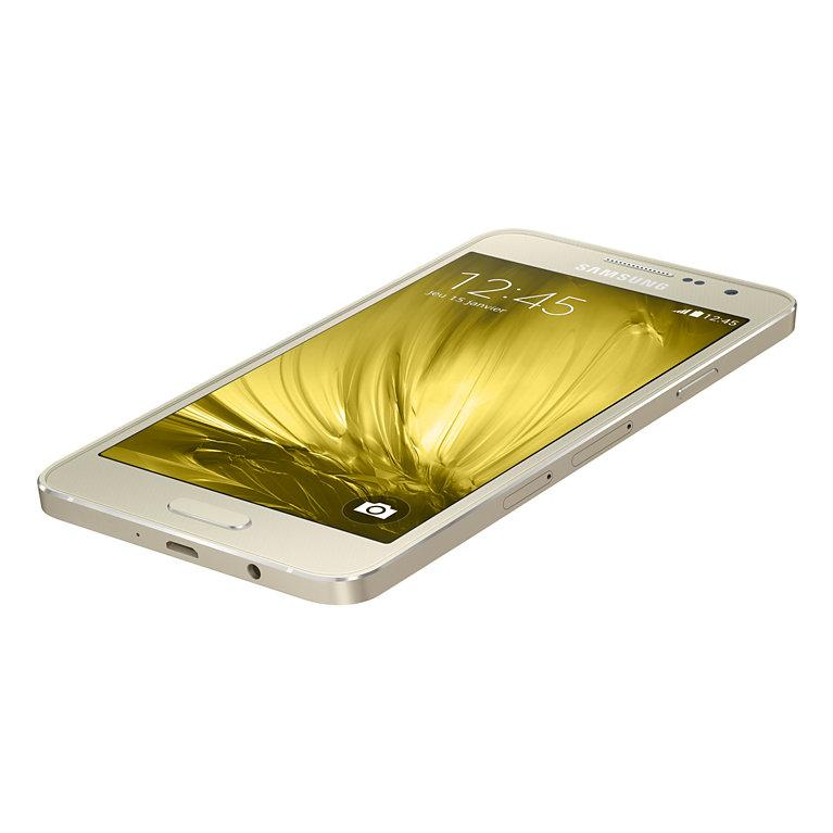 Saumsung Galaxy A3 16 GB - Oro - Libre