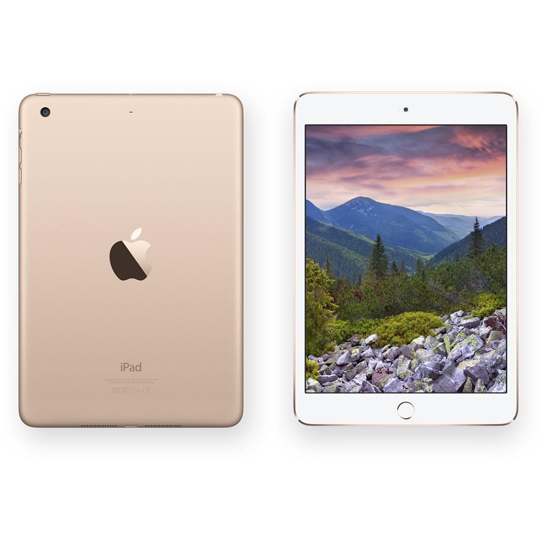 iPad mini 3 64 Go - Wifi + 4G - Or - Débloqué