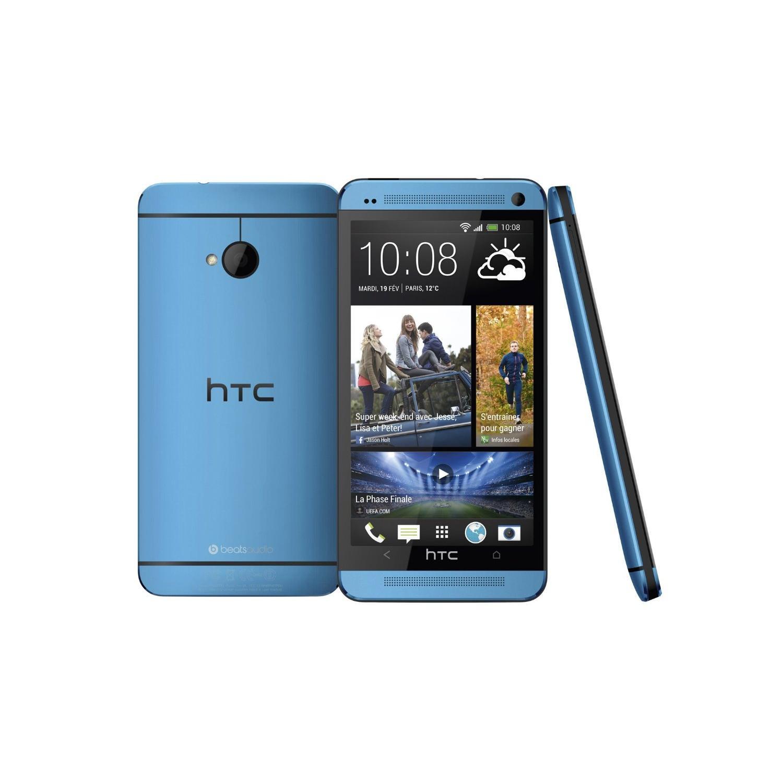 HTC One 32 Go - Bleu - Débloqué