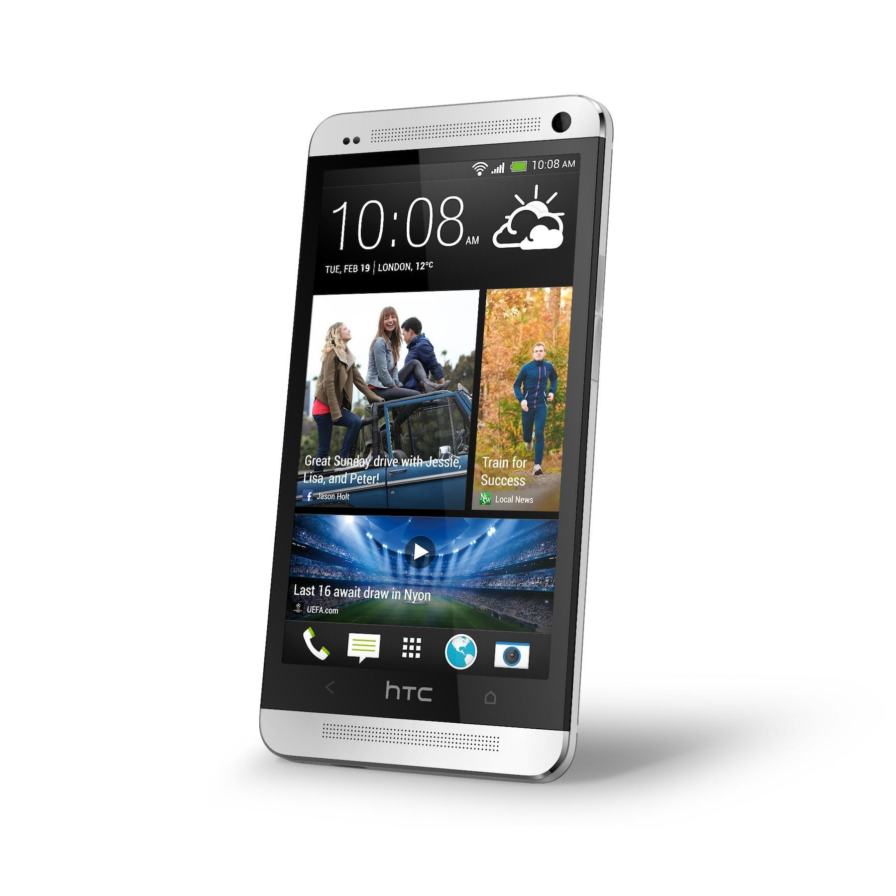 HTC One 32 Go - Argent - Orange