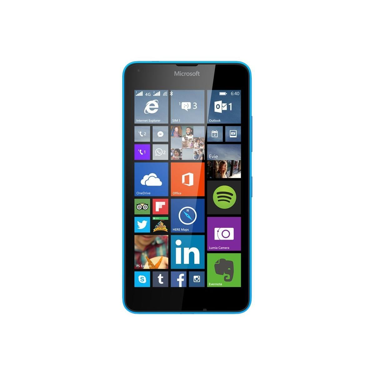 Nokia Lumia 640 8 Go Bleu - Débloqué